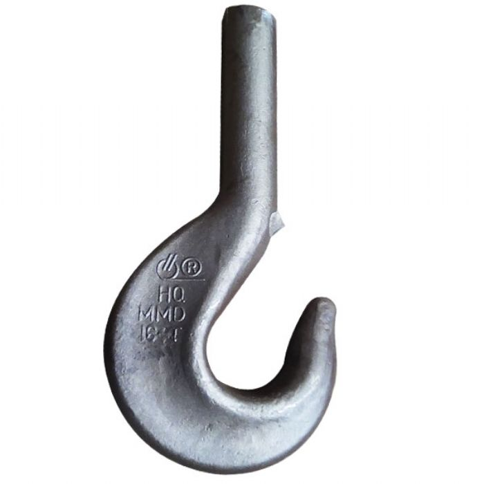 High Quality DIN15401 Forged Single Crane Hook