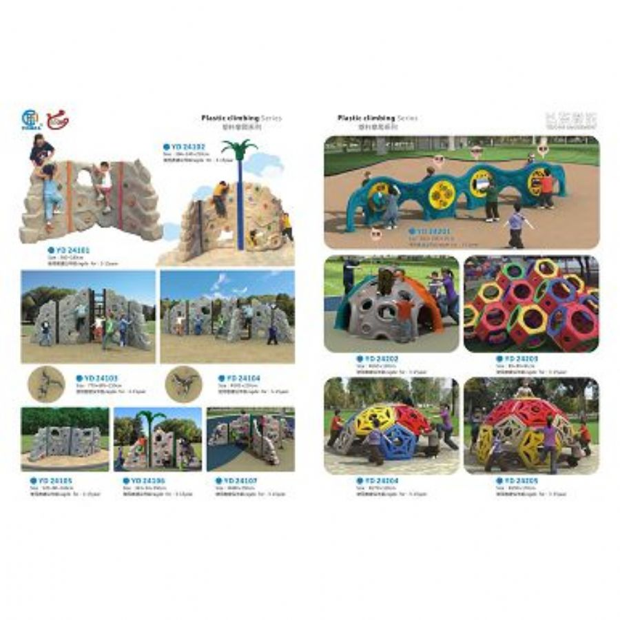 Customized Kids Playground Wavy Slide Wholesale Playground Equipment Slides