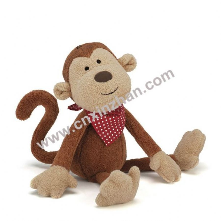 Monkey Plush Toys|stuffed Toys Piquant Cute Long Arm Brown Light Yellow Green Colours On Sale