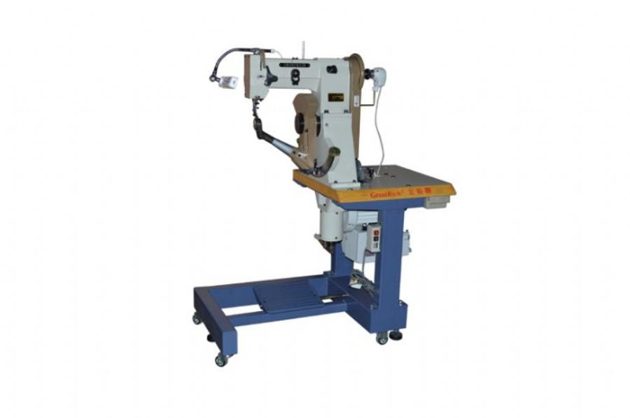 168T_Double_Needle_Double_Thread_Insole_Sewing_Or_Stitching_Machine