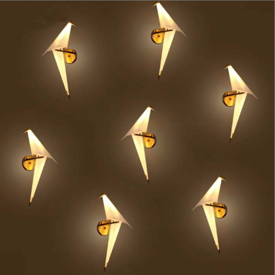Very Popular Bedroom Bird LED Wall Sconces Light Lighting For