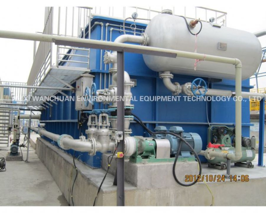 Efficient Vertical Integrated Double-stage Combination Air Floatation Equipment/cavitation Air