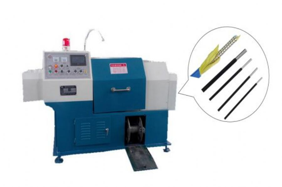 YCB-ZGJN1 CNC Fiber Optic Cable Protection Spiral Tube Armoring Machines, - metal Armoured Machines