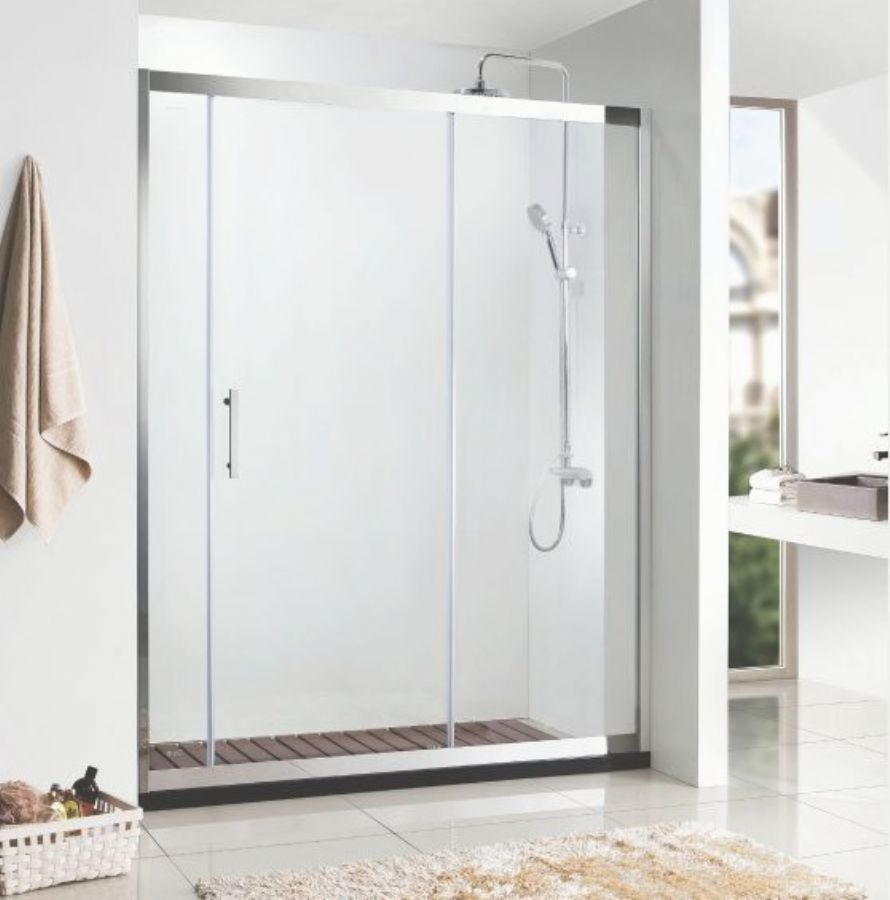 Twin Big Roller Barn Door Style Sliding Shower Door /enclosures/partition/ Screens/ Stalls/Walk In