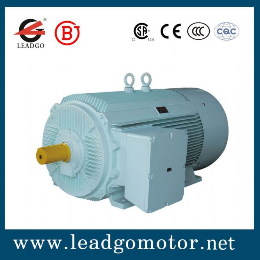 Low Voltage High Power Enclosure And Self-cooled Three Phase Induction Electric Motor For Pump, Fan