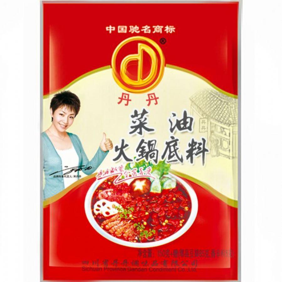 Best Famous Sichuan Flavors Spicy Hot Sauce Hot Pot Seasoning With Vegetable Oil Original Taste
