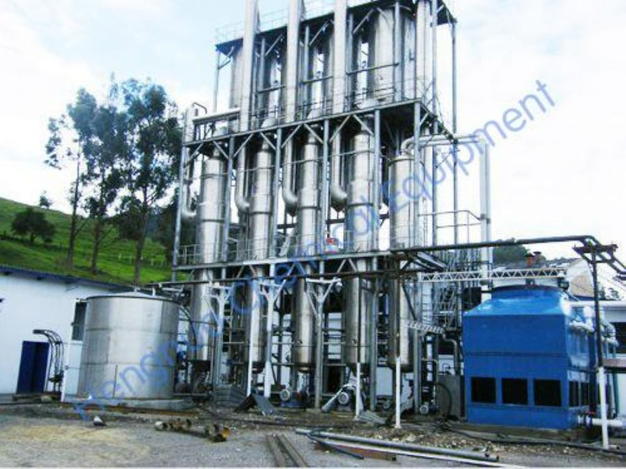 Double-effect/triple-effect/multi-effect Falling Film Evaporator