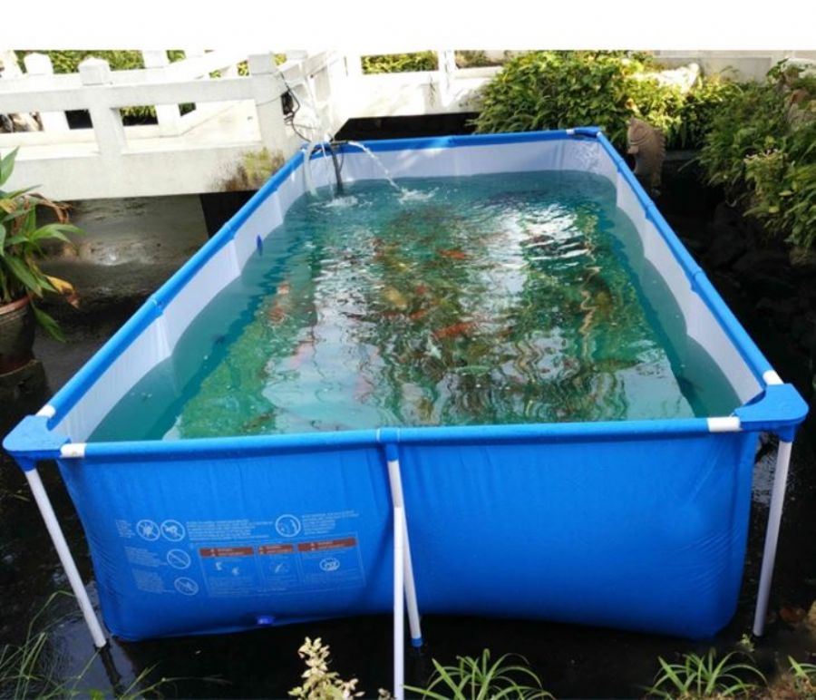Collapsible_Agriculture_Stackable_Pvc_Aquarium_Tank_Fishpools