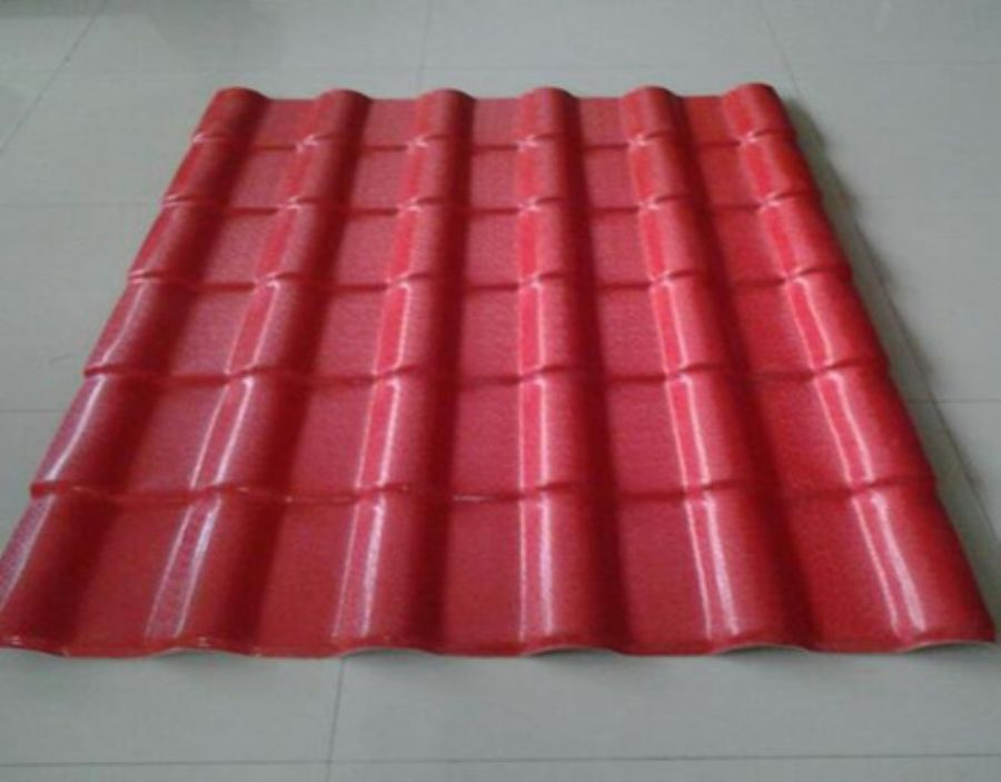 High Quality Synthetic Resin Tile Type Double Layers, Long Lifespan Fadeless Bright Color Roof