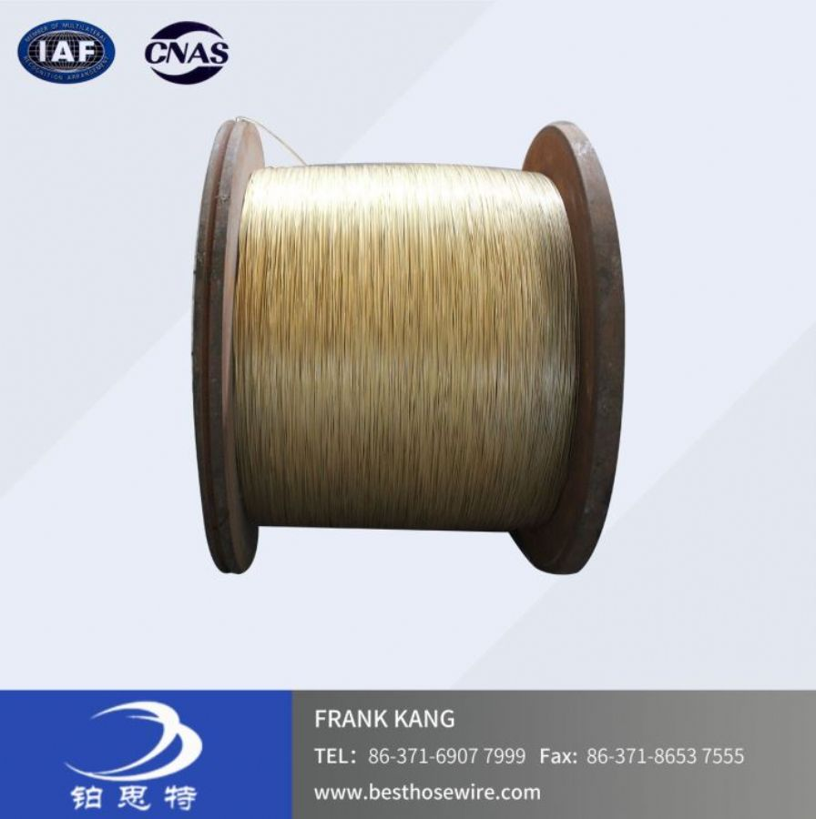 0.2mm-2.4mmBrass Coated Hose Reinforcement Wire