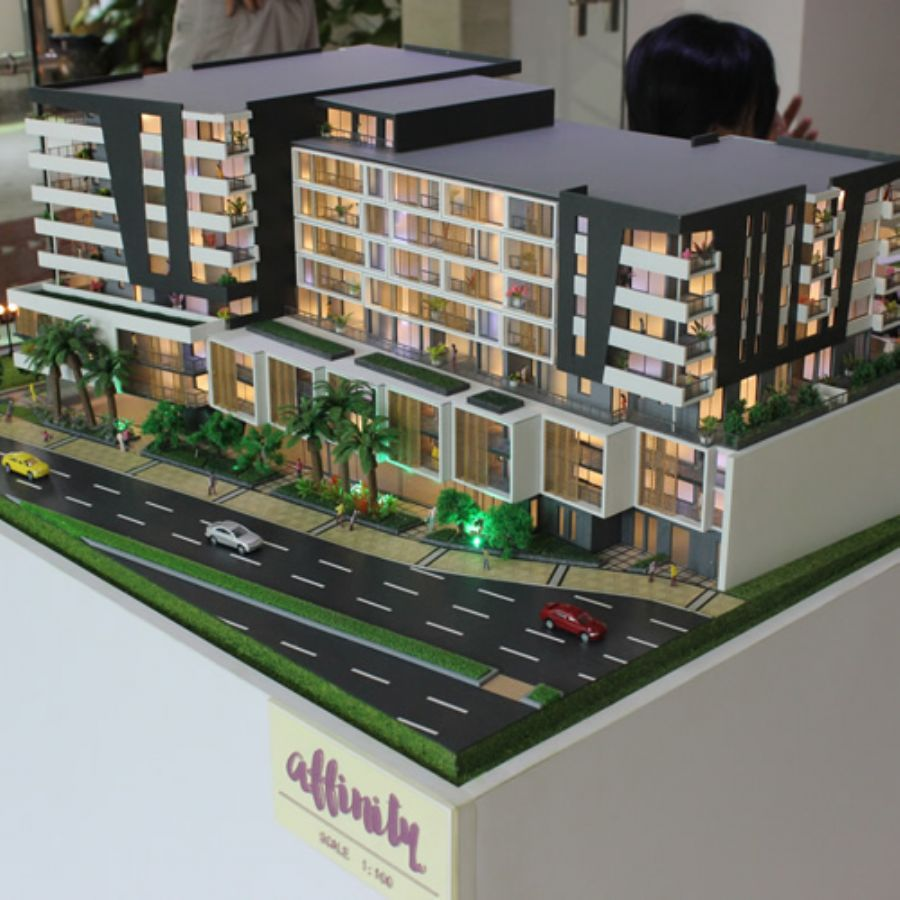 Architectural Physical Scale Models For Australian Apartment Folence 1:100 House Project
