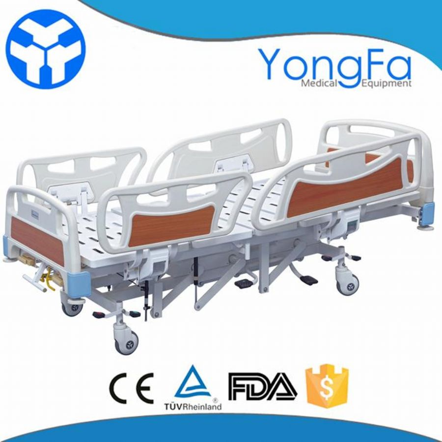 Stainless Steel Simple Structure Manual Adjustable Birthing Bed