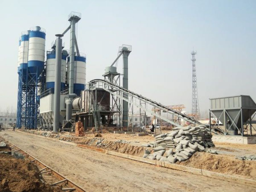 Professional Design 30T/H Dry Mortar Mix Plant