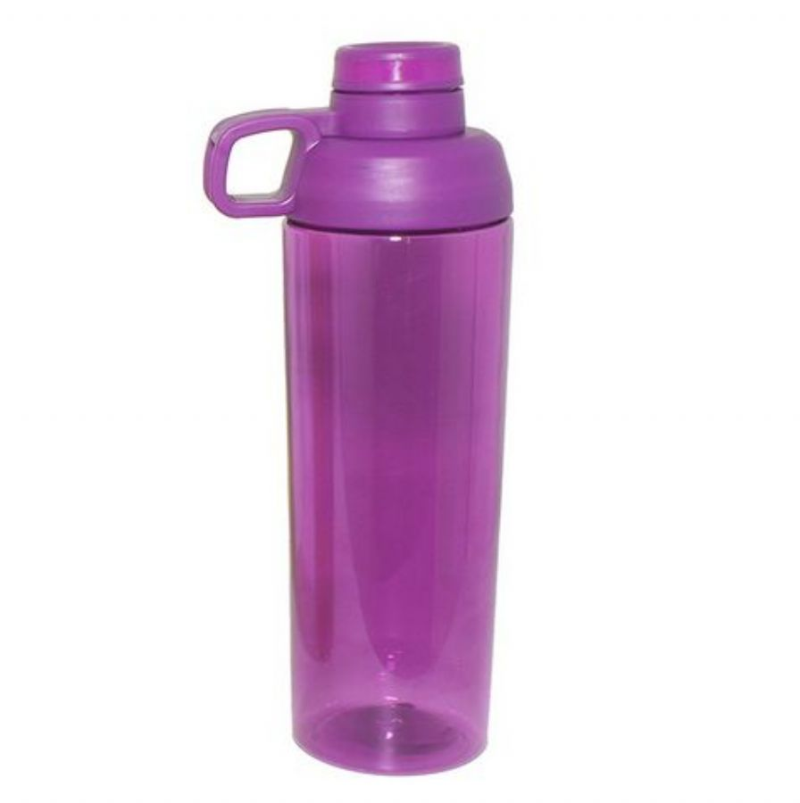 25 Oz Tritan Plastic Water Bottle With Twist Off Cap & Sipping Spout BPA FREE