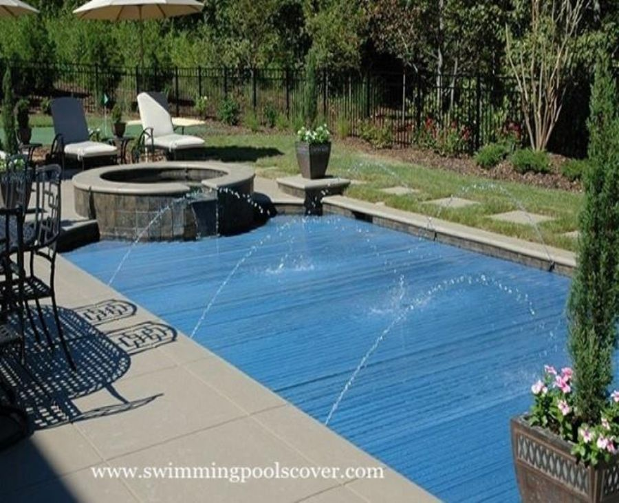Automatic Solar Swimming Pool Covers Above Ground For Outdoor