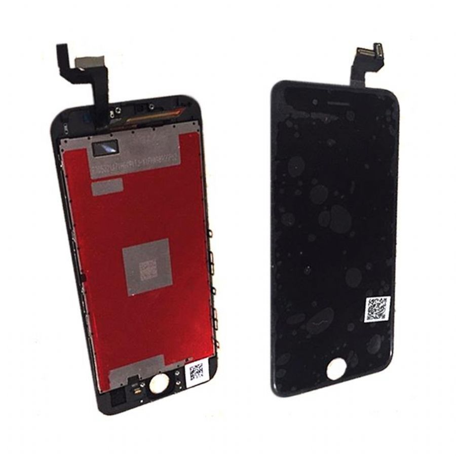 6S Mobile Phone Screen Black / White Touch Assembly With Digitizer Frame