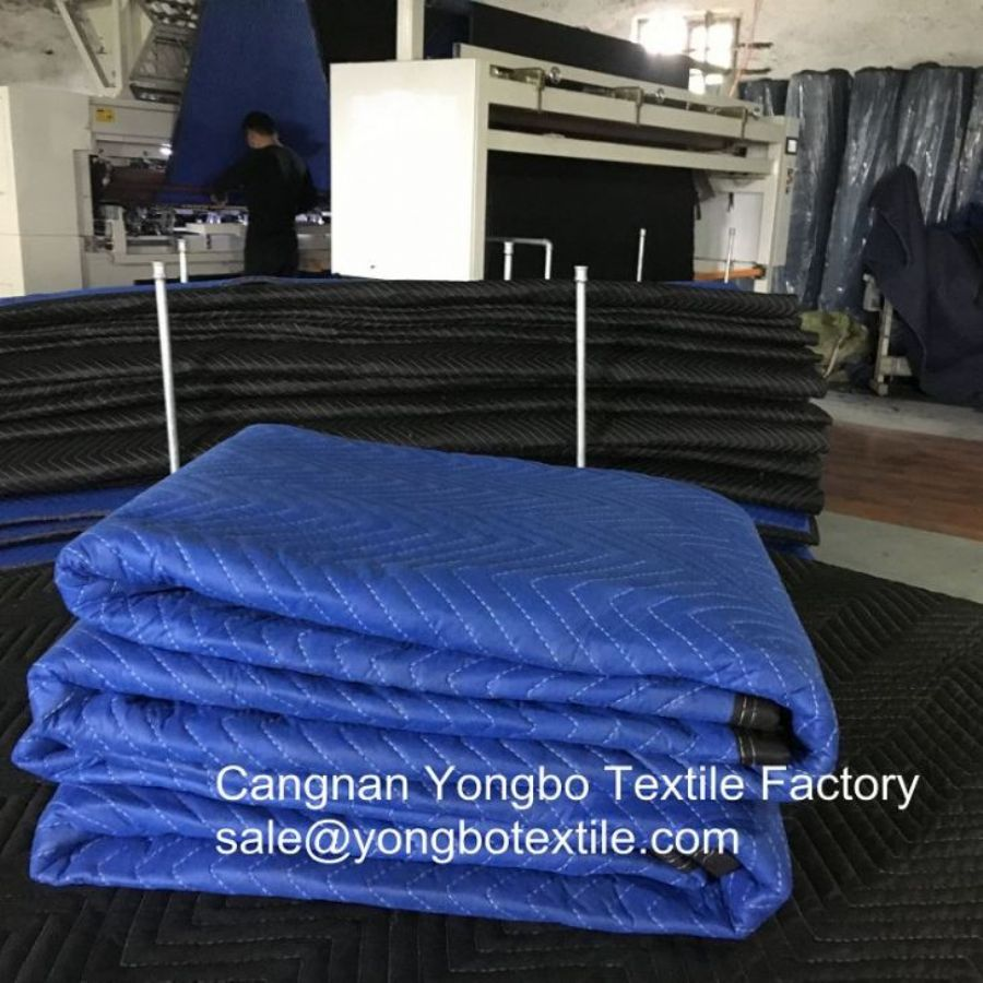 Non Woven Economy Furniture Transportation Moving Blankets For Moving