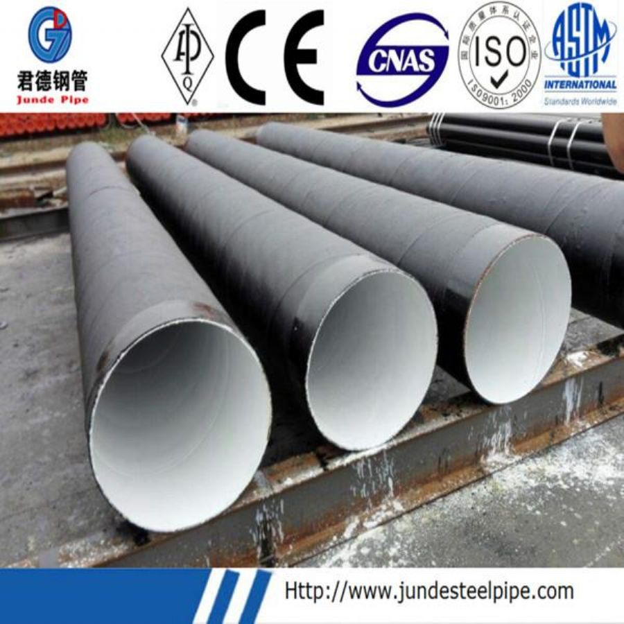 Internal And External Single Layer Epoxy Powder FBE Coating Pipe