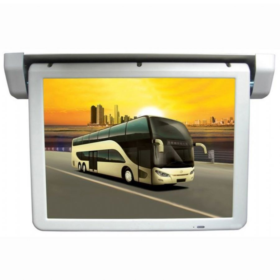 Bus/Car Motorized LCD TV Monitor Digital Screen Display For Sale