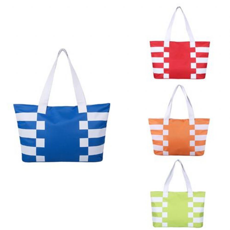 Women_Stripes_Printing_Large_Shoulder_Bags_Casual_Shopping_Bags_600D_Polyester_Beach_Bags