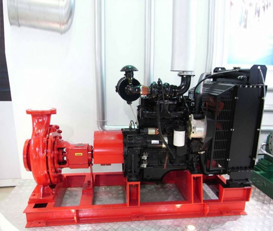 NFPA_20_Standard_XBC_Series_Horizontal_End_Suction_Type_Diesel_Engine_Driven_Centrifugal_Fire_Pump