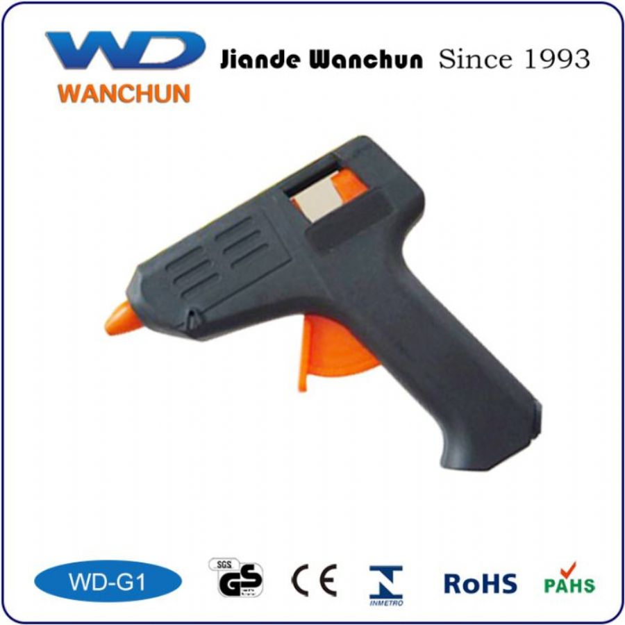 Nylon 30W Glue Stick Gun With 2pcs Glue Stick For Hobbycraft