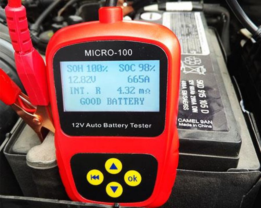 Digital Automotive Car Battery Life Tester MICRO-100