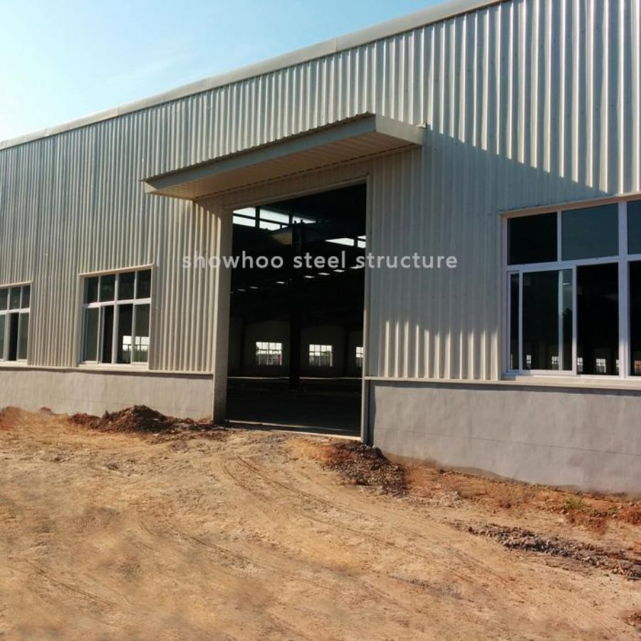 Prefabricated Steel Structure Construction - metal Warehouse Buildings For Sale