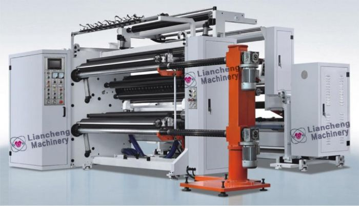 automatic high speed slitting and rewinder machine