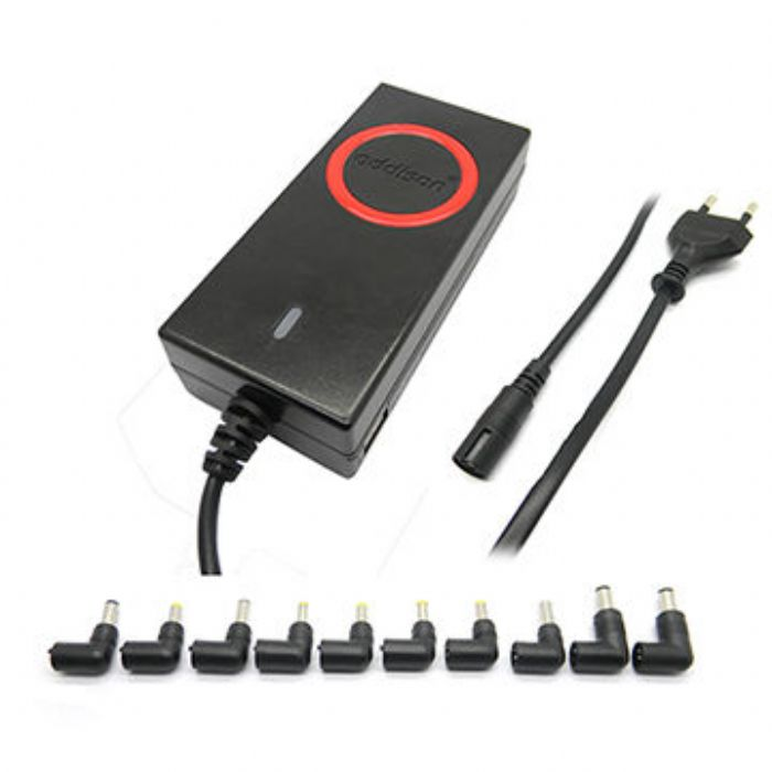65W Universal Laptop Adapters With 14 USB Dc Tips For Notebooks UL 2 Year Warranty