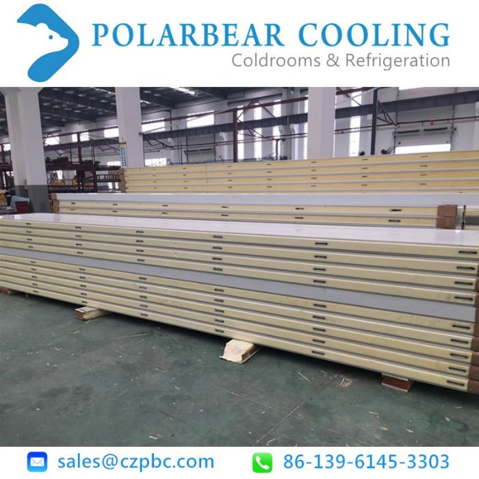PU panels for cold room refrigeration system