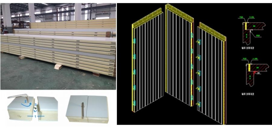 Polyurethane_insulated_panel_for_coolrooms