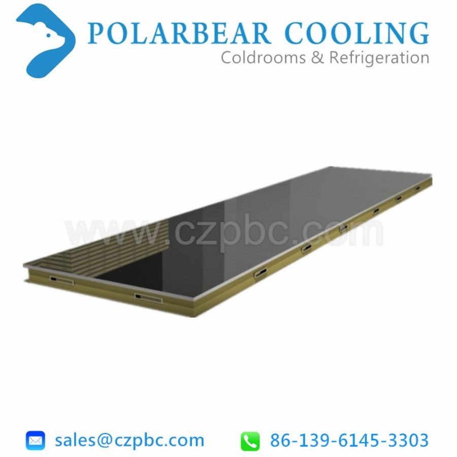 Roof panels for cold storage