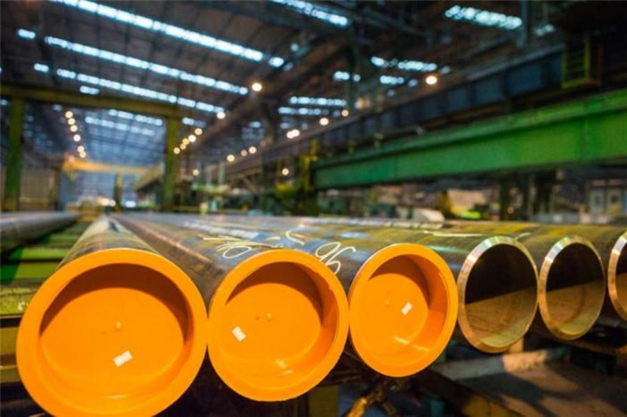 High Yield Carbon Steel Large Diameter LONG WELDED ERW Steel LINE PIPES API X Grades FOR GAS