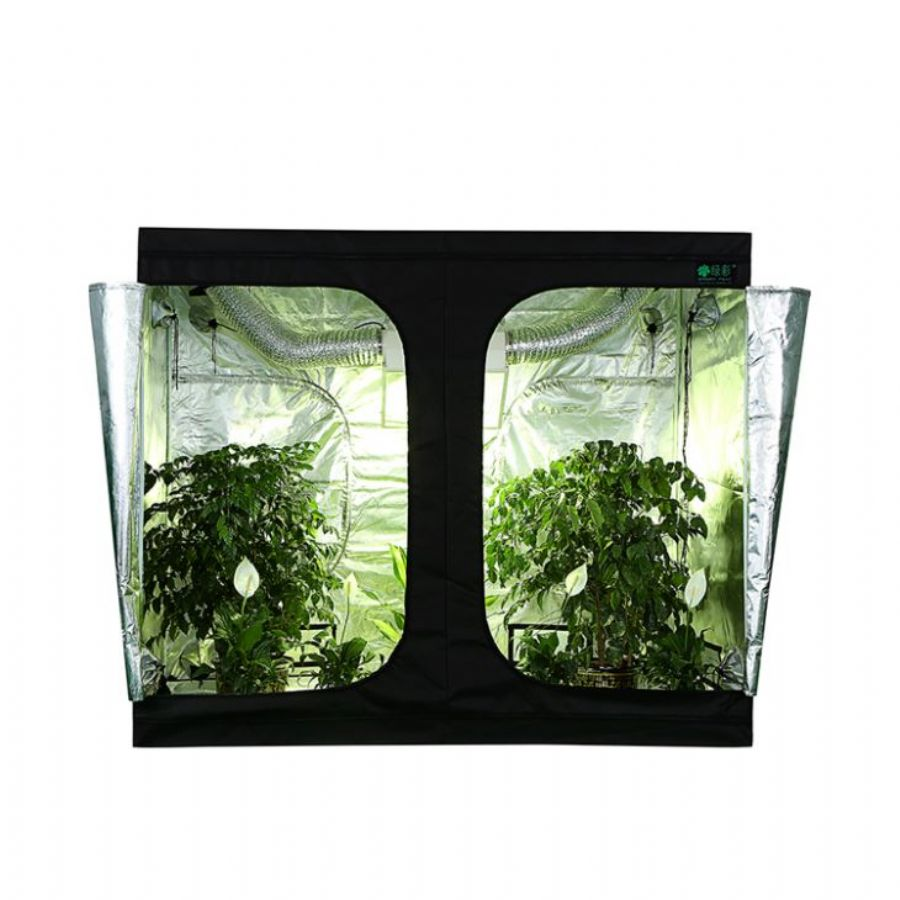 Green_Fllm_Complete_100__Top_Friendly_PEVA_Indoor_Hyonic_Grow_Tent_With_210D