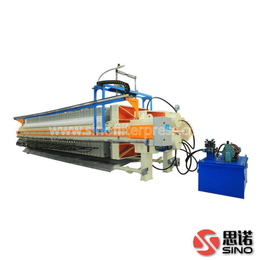 Best Performance Municipal Sewage Sludge Treatment Filter Press