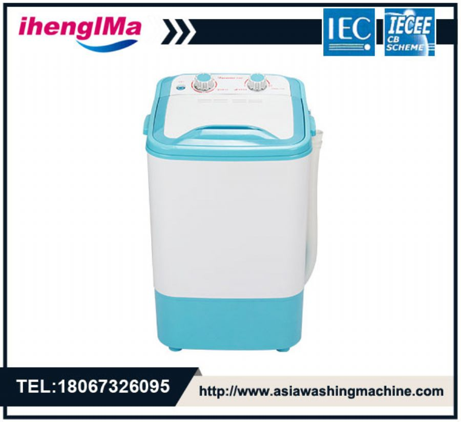 Mini Portable Small Single Barrel Semi-Automatic Washing Machine Maximum Load 4.6kg