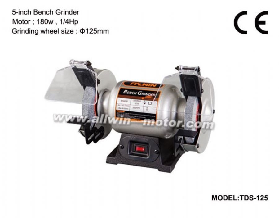 5_Inch_125mm_Electrical_Bench_Grinder_180W