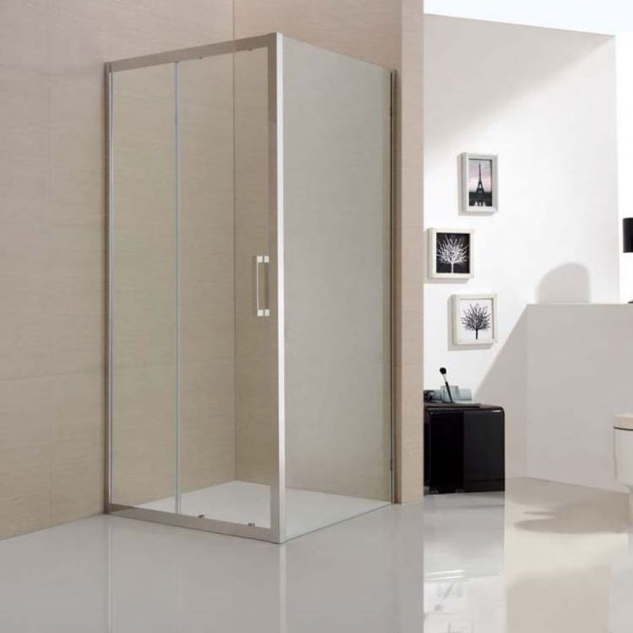 Framed Rectangular Shower Room In 304 Stainless Steel With Tempered Glass