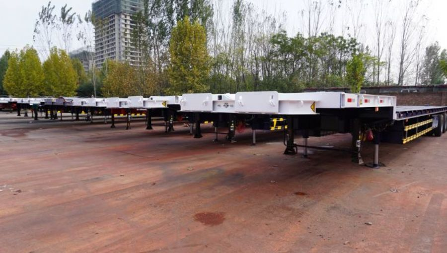 Windmill Blade Trailer , Wind Blade Transport Trailer , Wind Turbine Blades Trailer For Sale , Wind