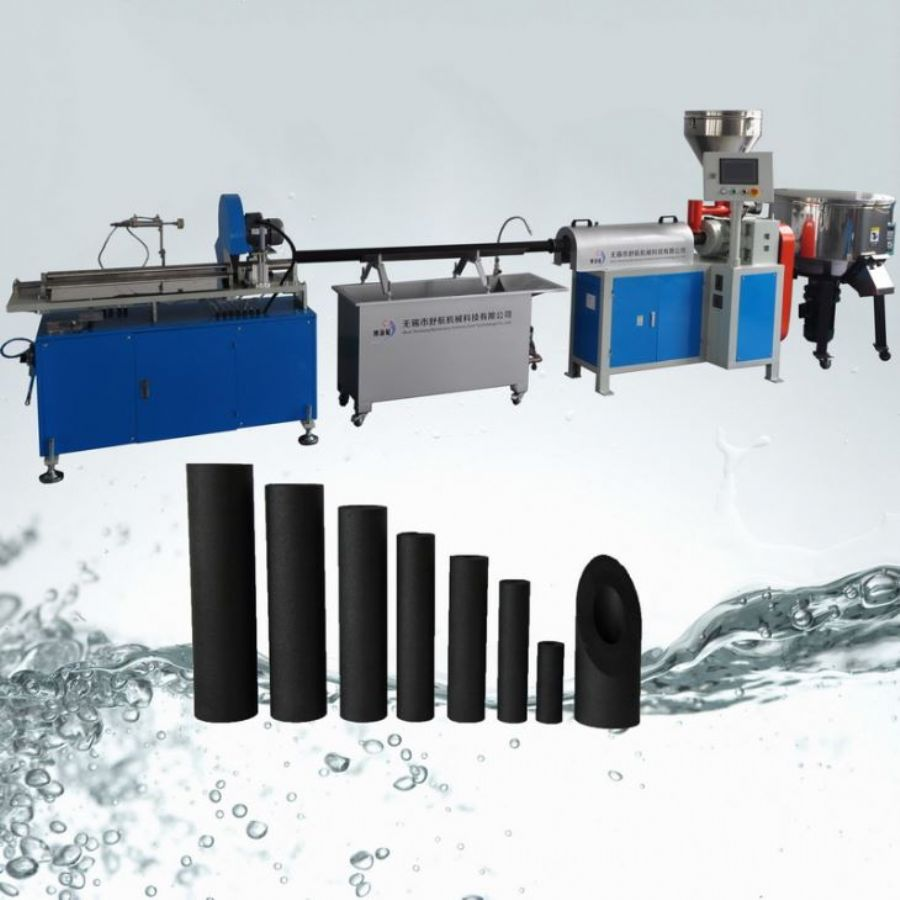 CTO Active Carbon Block Water Filter Cartridge Production Line Equipment