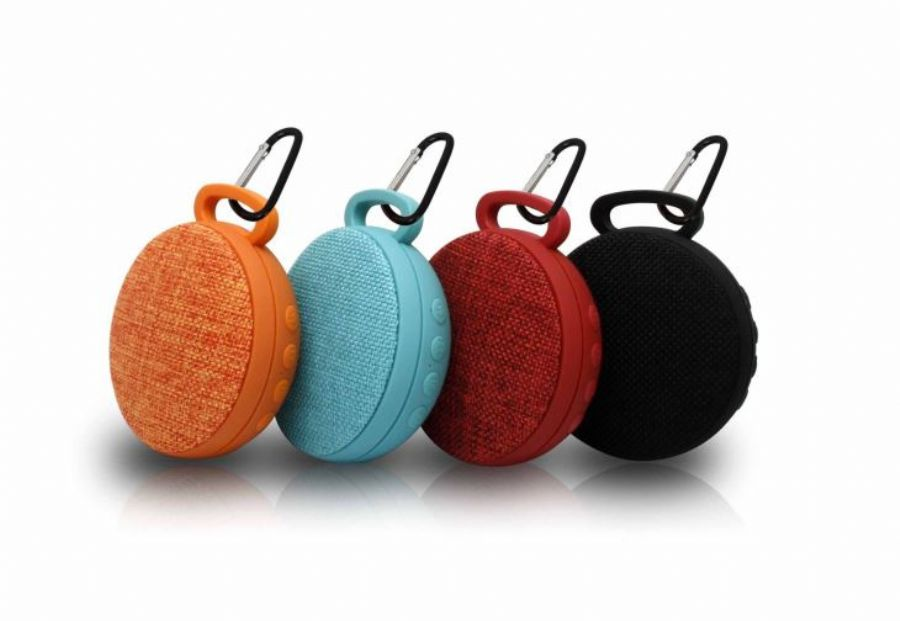 Customized Mini Portable Sport Speaker With Hanging Hole For Outdoor Use