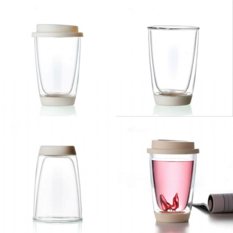 Food Grade Stainless Steel Travel Coffee Cup Double Wall