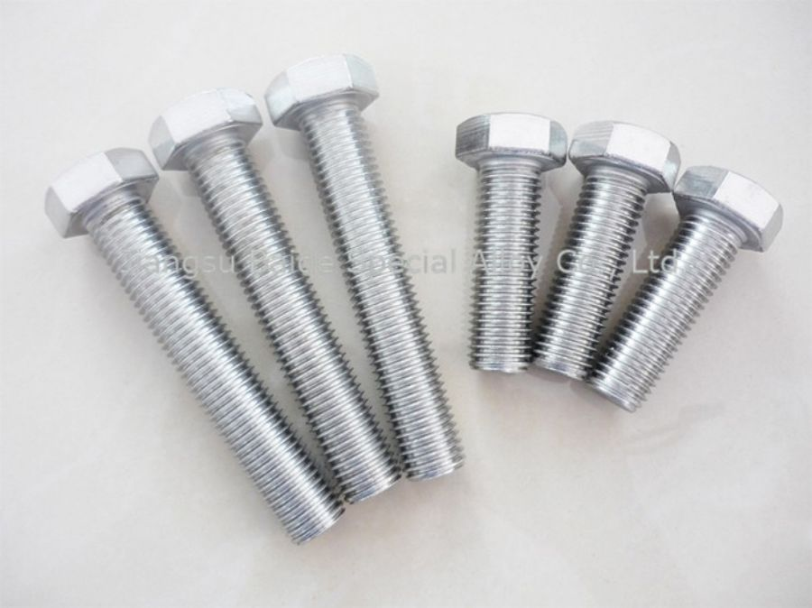 Inconel 600 Heavy Hex Bolt Uns N06600 NA14 W.Nr.2.4816 NC15FE NiCrl 5Fe For Sale