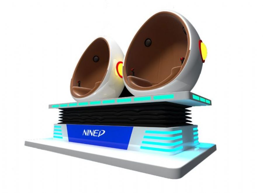 Entertainment 9d Vr Simulator Smart Trends Electric System 360 Degree Egg Seats Virtual Reality
