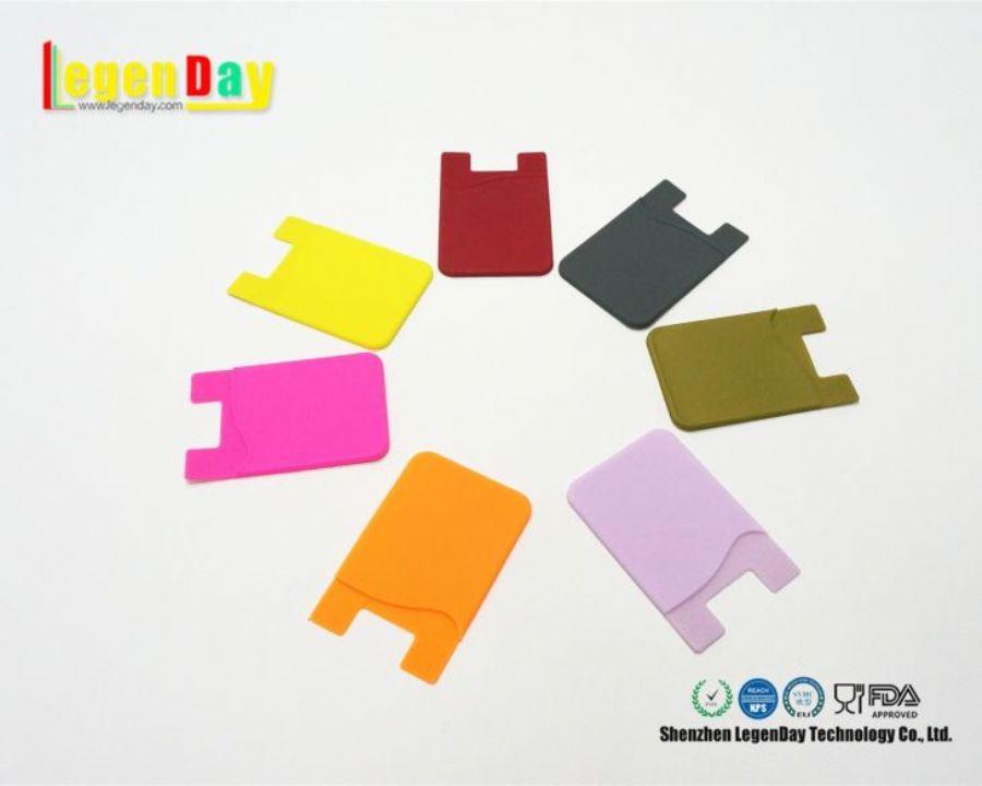 3M Glue Sticky Customized Design Phone Cards Holder