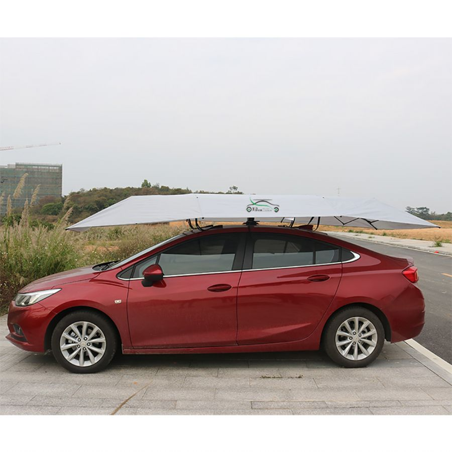 Melody Semi-auto Easily Operate Car Umbrellas For Protecting Your Car