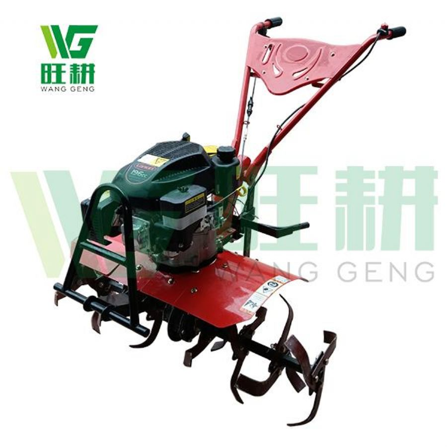 Multi-function Vertical Gasoline Engine Cultivator With Anti Dust Filter For Vegetable Greenhouse