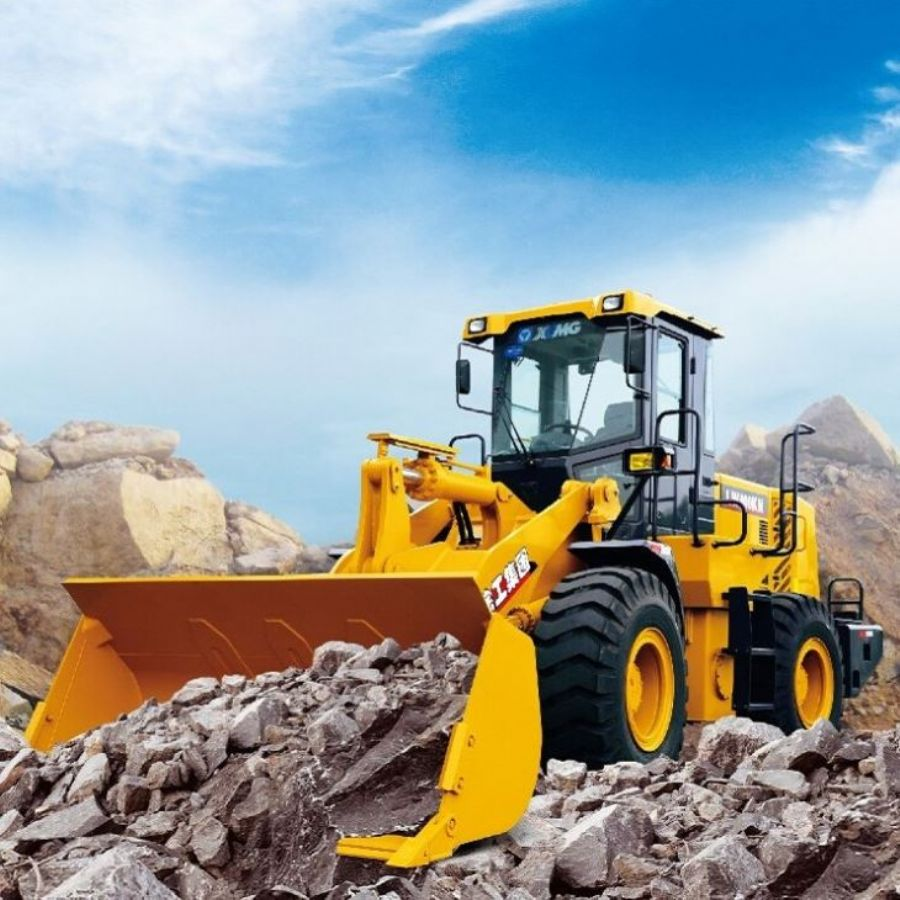 Best XCMG 4 Ton Front End Wheel Type Loader LW400KN