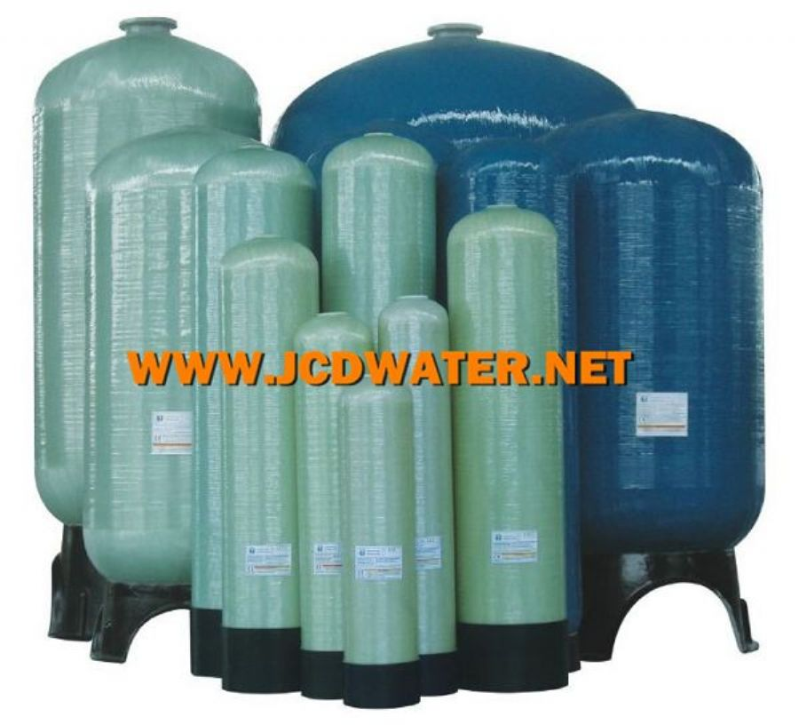 PE_LINED_150_PSI_Vertical_FRP_Vessel_FRP_Tank_Water_Softener_Tank_Water_Filter_Vessel